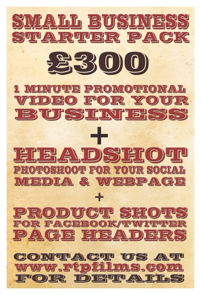 Promotions for small business